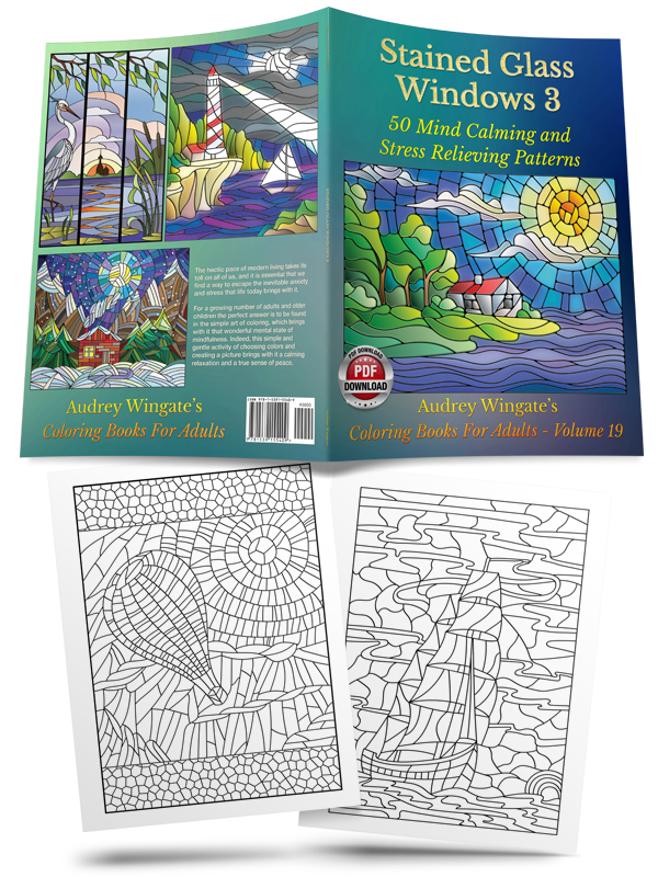 50 Mind Calming And Stress Relieving Patterns Stained Glass Windows 3