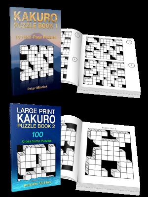 Kakuro Print Books