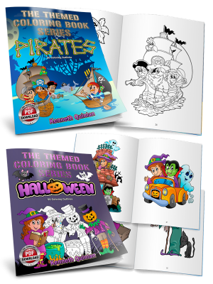 Kids' Coloring Books (PDF)
