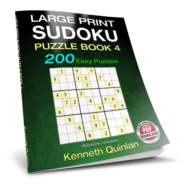Large Print Sudoku Puzzle Book 4 200 Easy Puzzles Pdf Wmc