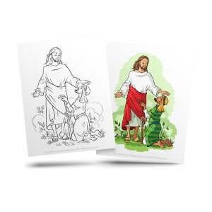 free bible adult coloring image