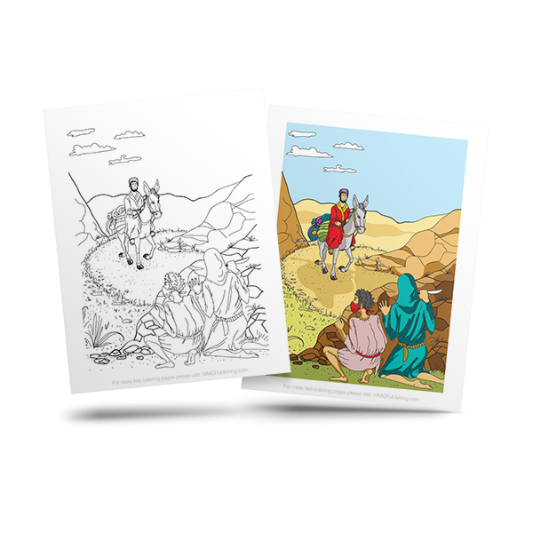 free bible adult coloring page