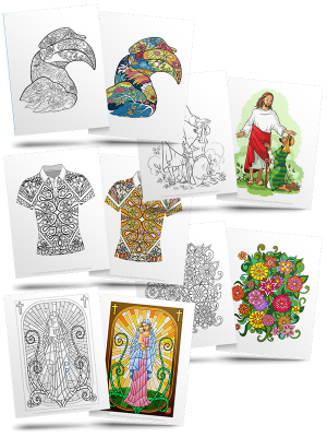 Adult Coloring (Free Page Downloads)
