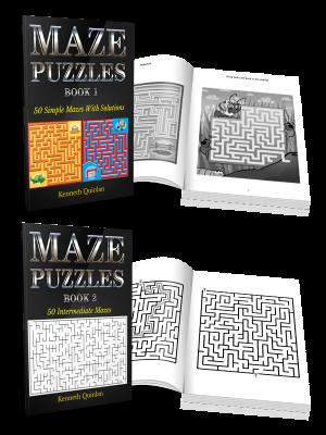 Mazes - Print Books