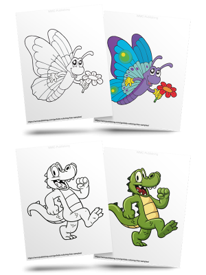 Free Animal Kids' Coloring Pages