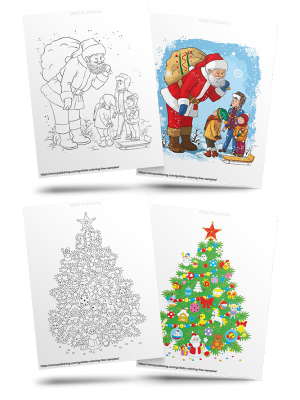 Free Christmas Kids' Coloring Pages