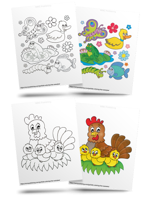 Free Outdoors Kids' Coloring Pages