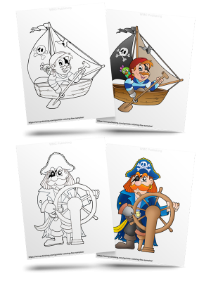 Free Pirates Kids' Coloring Pages