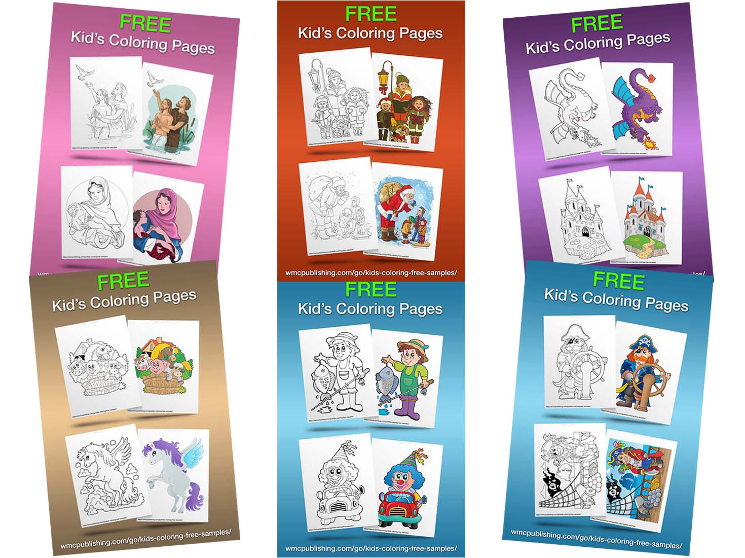 Free Kids' Coloring Pages