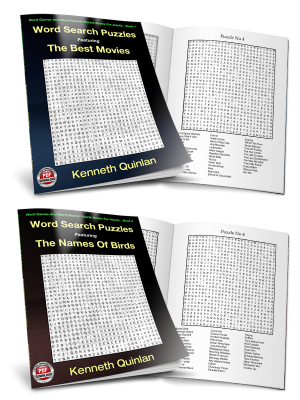 Word Search PDF Books