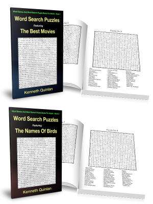 Word Search Print Books